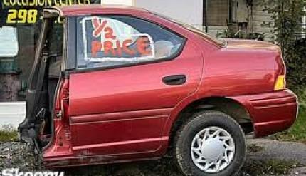 voiture coupée